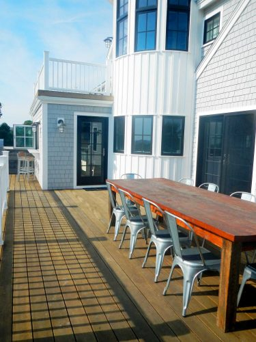 Deck and Dining Area